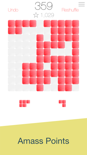 Blocks Away Screenshot - Amass Points