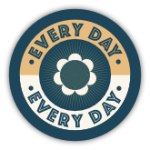Blocks Away Badge for Every Day Reward