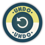 Blocks Away Badge for Undo