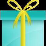 Blocks Away Green Gift Box