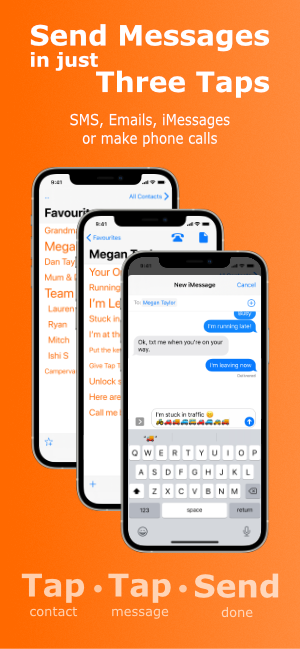 Send Messages in Just Three Taps