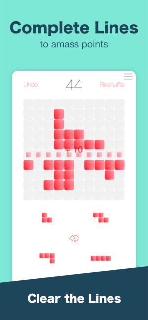 Blocks Away Screenshot - Complete Lines